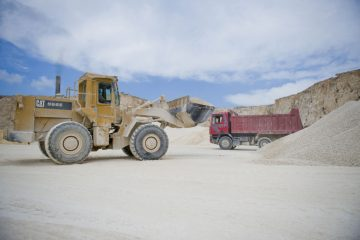 Supply of construction aggregates and sand