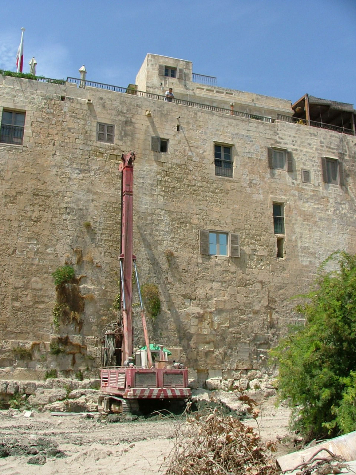 Core Extraction and Open Hole Drilling – Mdina Bastion Investigations